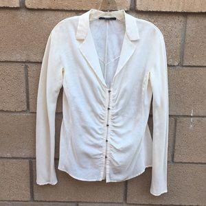 Gucci white blouse